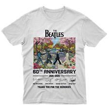 fm10 t-Shirt Maglietta 60th The Beatles Idea Regalo Strisce pedonali Musica