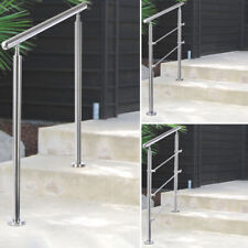 Internal Steel Staircase Access Steps/Platform Handrail Stair Rail 2,3 Cross Bar
