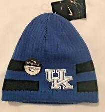 NWT NIKE Reversible U. of Kentucky Skull Cap Cap-Blue & Black-Size 8-20