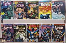Detective Comics #649 659 660 661 663 665 666 667 668 669 - ALL NM - CGC READY