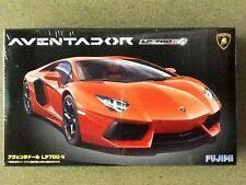 FUJIMI 1/24 LAMBORGHINI AVENTADOR SPORTS CAR  MODEL KIT # 12397 FACTORY SEALED