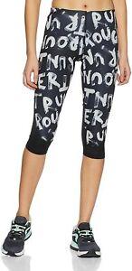 Reebok Women's trousers leggings RE capri pants, Fitness Sport, Black, M