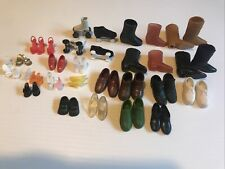 Vintage Mix Lot Of Barbie & Ken Clone? Vogue? Shoes Pairs & Singles?