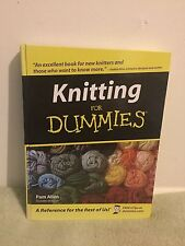 Knitting For Dummies by Pam Allen (2008) HC