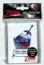 Legend of Zelda Trading Card Sleeve Master Sword Hylian Shield Deck Protector