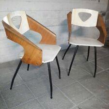 Sedie vintage design CARLO RATTI anni 50 midcentury chairs vittorio nobili medea