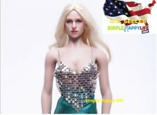 "1/6 scale Sexy women metal top for 12"" figure phicen hot toys kumik ❶US Seller❶"