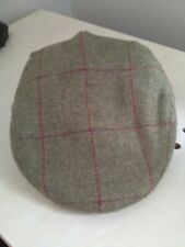 mens flat cap100% wool size medium.