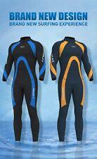 Mens Wetsuits Jumpsuit 3mm Neoprene  Full Body Diving Suit Diving Snorkeling