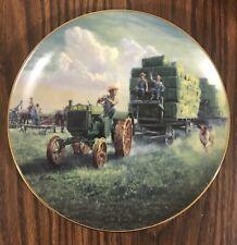 Danbury Mint The Hay Ride Farmland Memories Collector Plate