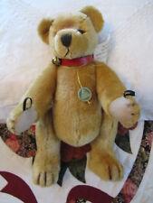 "Hermann Germany Mohair Teddy Bear 80th Anniversary from 2000 Growler - 15"" Tall"