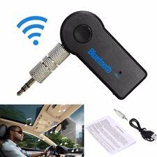 Wireless Bluetooth 3.5mm AUX Audio Stereo Musik Auto Empfänger Adapter Mic NEU