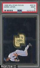 1999 SPx Star Focus #SF18 Derek Jeter Yankees PSA 9 MINT POP 3 NO 10's