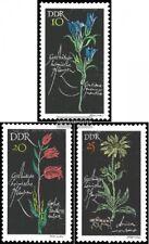 DDR (RDA) 1242-1244 (completa.edición) usado 1966 plantas