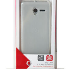 COVER gomma Jelly trasparente + Screen protector Vodafone Smart speed 6 Original