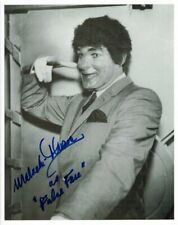 "Malachi Throne Signed Autographed 8x10 Photo ""False Face"" Batman Inscribed Smirk"