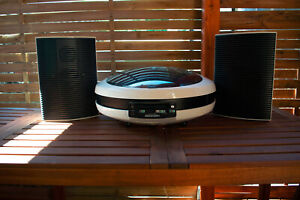Weltron 2007 stereo system set with speakers and headphones