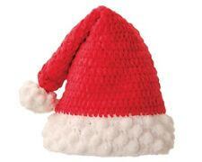 San Diego Hat Red SANTA cap Soft Chenille 1-2 yrs, 12-24 months Holiday Photo