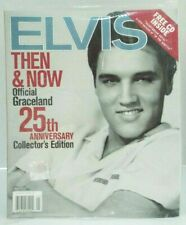 Elvis Then & Now Official Graceland 25th Anniversary Collector's Ed & CD Sealed