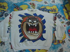 Vintage 90's Looney Tunes Tasmanian Devil Taz Beast Sweatshirt Adult Size XL