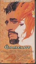 Camelot (VHS 2-Tape Set) R. Harris-V. Redgrave Brand New! FREE SHIPPING!