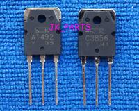 5pairs(10pcs) of 2SA1492 & 2SC3856 SANKEN Transistor A1492 & C3856