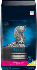 Purina Pro Plan Sensitive Skin & Sensitive Stomach Dry Dog Food 41lb Salmon NEW!