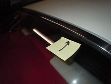 1957 PLYMOUTH  HARDTOP top rear window stainless trim