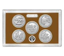 2017 Proof Set 17AP National Park ATB No Box or COA 5 Coin Deep Cameo In Stock