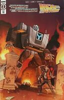 Transformers Back to the Future #2 Cover RI 1:10 Schoening Variant Comic IDW
