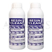 Resin Clean 2x1 Liter Harzreiniger für Enthärtungsanlagen Wasserenthärtung