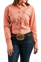 Cinch Women's Coral Snap Up Western Shirt MSW9201001