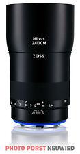 Zeiss Milvus 2.0/100m ZE Objectif Canon ef-mount