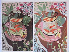 Josef Albers Original Silkscreen Folder XIX-2/Right Interaction of Color 1963