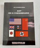 Ant on a Chessboard Warsaw Uprising 1944 by Jan Kurdwanowski WWII Book