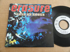 "DISQUE 45T DE ERASURE   "" SHIP OF FOOLS """