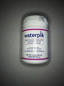 Waterpik Whitening Water Flosser Refill Tablets 30 count, 08/2024