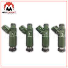 FUEL INJECTOR SET TOYOTA 1ZZ-FE FOR COROLLA AVENSIS & CELICA 1.8 LTR 01-08