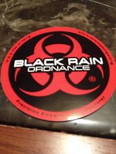 BLACK RAIN ORDNANCE LOGO DECAL STICKER FIREARM GUN AR 15 MANUFACTURER RIFLE L@@K