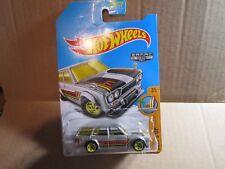 71 Datsun Bluebird 510 Wagon Zamac 2017 Hot Wheels