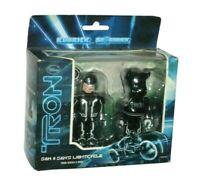 Tron Legacy: Sam Kubrick and Sam's Lightcycle Be@rbrick 2 Pack - Sealed New