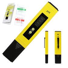 LCD Digital Tester Medidor De Ph Para Acuario Piscina Agua hidropónica CE automático de vino