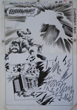 GENE COLAN / BOB McLEOD original art, JEMM SON of SATURN #11 pg 29, Splash, 1985