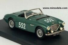 AUSTIN HEALEY 100/4 1953 Mille Miglia factory #552 wh/met 1:43 FREE SHIP USA/CDA