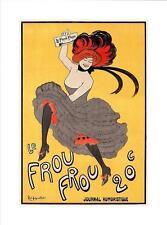 Le Frou Frou journal humoristique Art Impression/Art print - 80x60cm