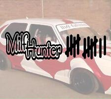 Milfhunter tratto elenco M.I.L.F. Turbo Hater ADESIVO STICKER JDM Hater Fun OEM