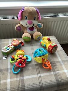 Baby Toddler Toy Bundle  Toys Including Vtech & Fisher Price Etc