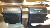 Panasonic Portable Speaker System RP-SP15 Tested Working Decent Condition