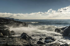 PHOTO SEASCAPE ROCKY COAST OCEAN GIANT POSTER WALL ART PRINT LLF0056