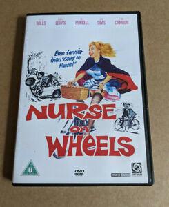 NURSE ON WHEELS Juliet Mills / Ronald Lewis / Joan Sims Region 2 UK DVD